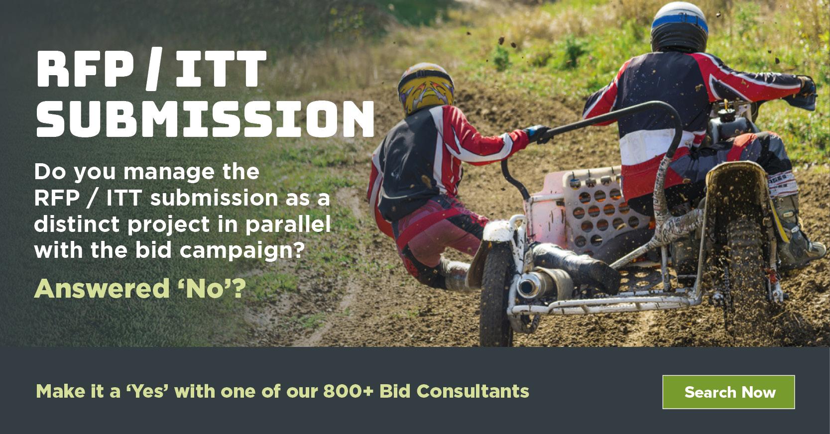 RFP / ITT Submission